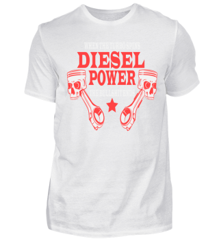 Diesel Power Tuningl King fun Shirt