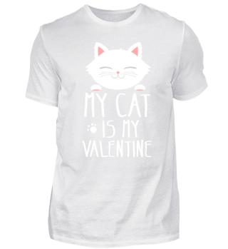 Cute Cat Anti Valentines Day Kitty Gift