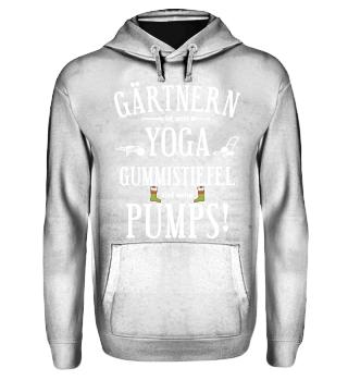 Gärtner T-Shirt - Yoga & Gummistiefel