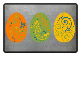 ★ Three Boho Ornaments Easter Eggs 2