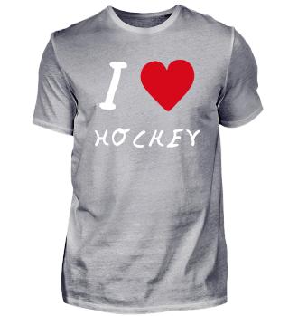 I love hockey, Geschenk, Geschenkidee