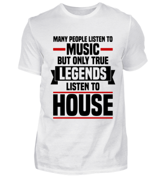 Legends listen to House