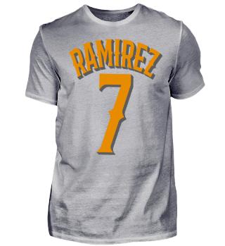 Herren Kurzarm T-Shirt Ramirez 7 Ramirez