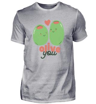 Olive You Funy Cute