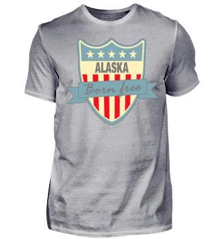 Herren Kurzarm T-Shirt Alaska Ramirez