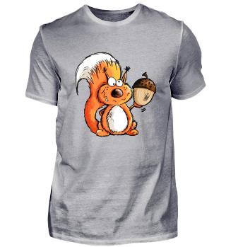 Cooles Eichhörnchen Comic I Geschenk