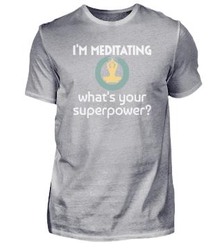 Meditation Spruch | Superkraft Yoga Zen