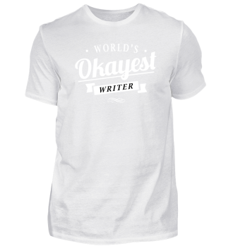 Writer T Shirt For Men And Women