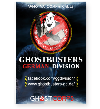 Ghostbusters German Division Fan Poster