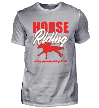 Horse horses riding equestrian gift