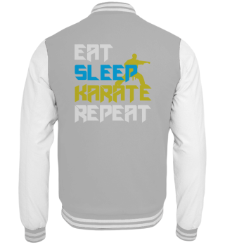 Eat Sleep Karate Repeat