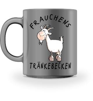 Ziegen Frauchens Trinknapf MODARTIS