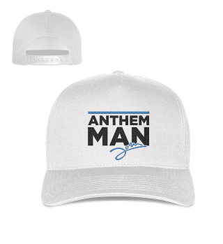 Anthem Man - Cap White