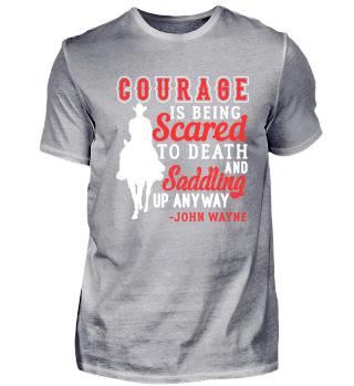Courage Saddle Up Horse Cowboy