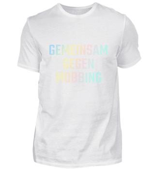 Gemeinsam gegen Mobbing