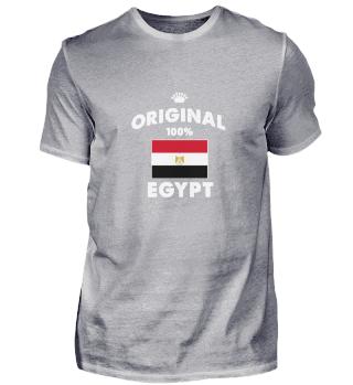 Egypt Original Flag Pyramids Pharaoh