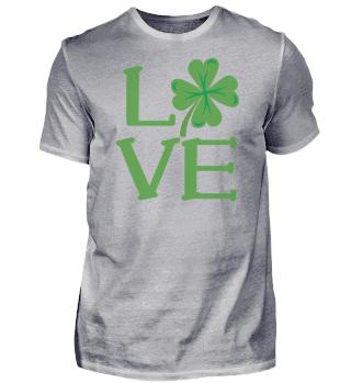 St. Patrick's Day Love | Shamrock Love