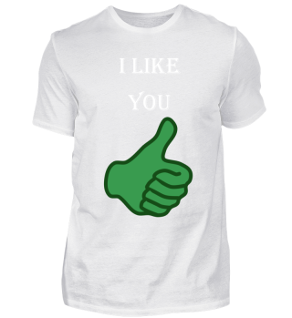 I like you/cool present for your friens