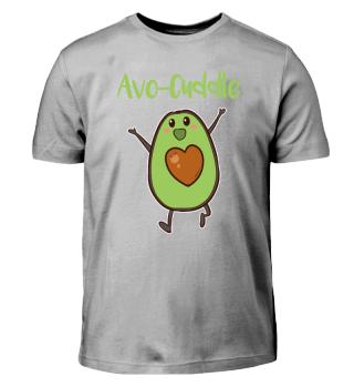 Valentinstag Avocado T Shirt
