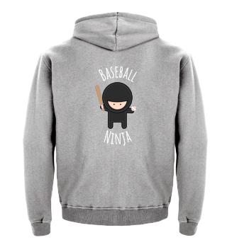 Baseball Ninja - Funny T-Shirt & Gift