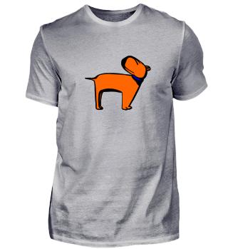 Hund orange