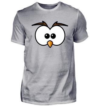 Eule Augen Owl Eyes Comic Funny lustig