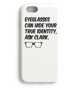 Eyeglasses can hide your true Identity