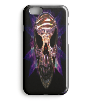 GOLD SKULL PIRATE PREMIUM IPHONE CASE