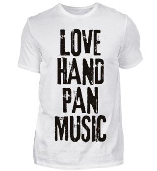 LOVE HANDPAN MUSIC - black
