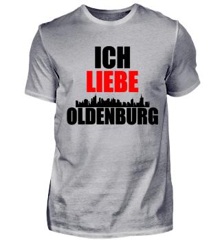 Meine Stadt T-Shirt ich liebe Oldenburg
