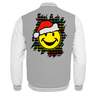 ★ Christmas HO HO HO - Santa Smiley I