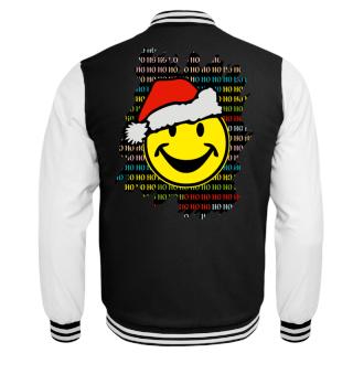 ★ Christmas HO HO HO - Santa Smiley I