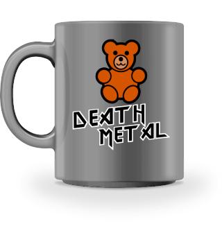 Süßer Death Metal Teddy Tasse Geschenk