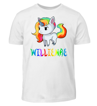 Williemae Unicorn Kids T-Shirt