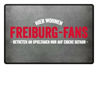 Hier wohnen Freiburg-Fans..