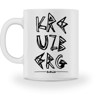 Kreuzberg - Berlin - Ceramic Mug