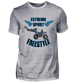 Extreme sport freestyle