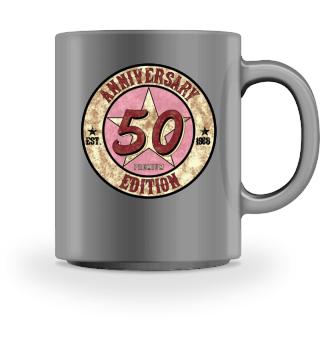 50 Jahre 1968 Geburtstag US Vintage Geschenk gift present birthday fifty