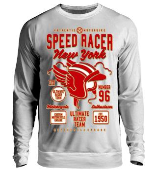 Herren Langarm Shirt Speed Racer Ramirez