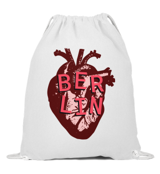 Berlin Love Heart - String Bag