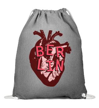 Berlin Love Heart - String Bag