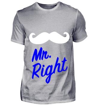GIFT- MR RIGHT WHITE
