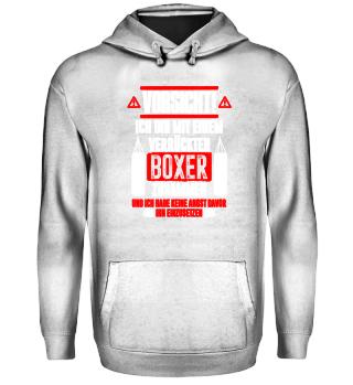 Boxen: Bin mit verrücktem Boxer - Geschenk