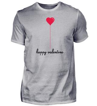 Valentine's Day Geschenk T-Shirt Herz