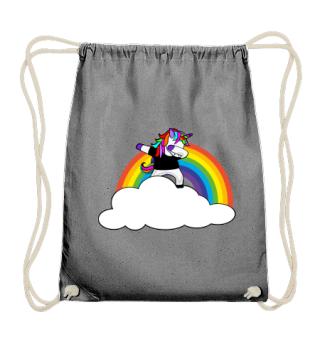 ♥ Dabbing Rainbow Unicorn - Your Text 4