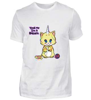 Baby Unicorn Caticorne Kitty - Kittycorn