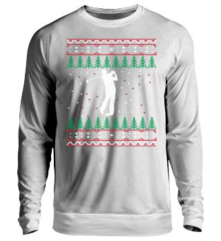 Golf Ugly Xmas Sweater Geschenk