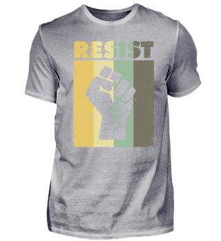 Resist - Faust - Vintage - Farbig