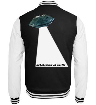 Handpan UFO - resistance is futile