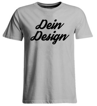 Dein Design Übergrößen Unisexshirt